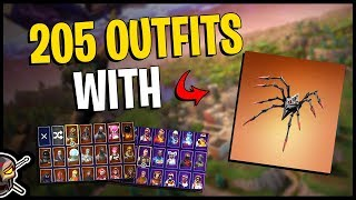 Long Legs Back Bling on 205 Outfits   Commentary   Arachne - Fortnite Cosmetics