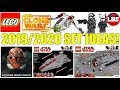 LEGO Star Wars 2019 Clone Wars Set Ideas! (2019/2020 LEGO Star Wars Set Ideas!)