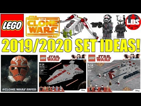 Lego Star Wars 2019 Clone Wars Set Ideas 20192020 Lego Star Wars