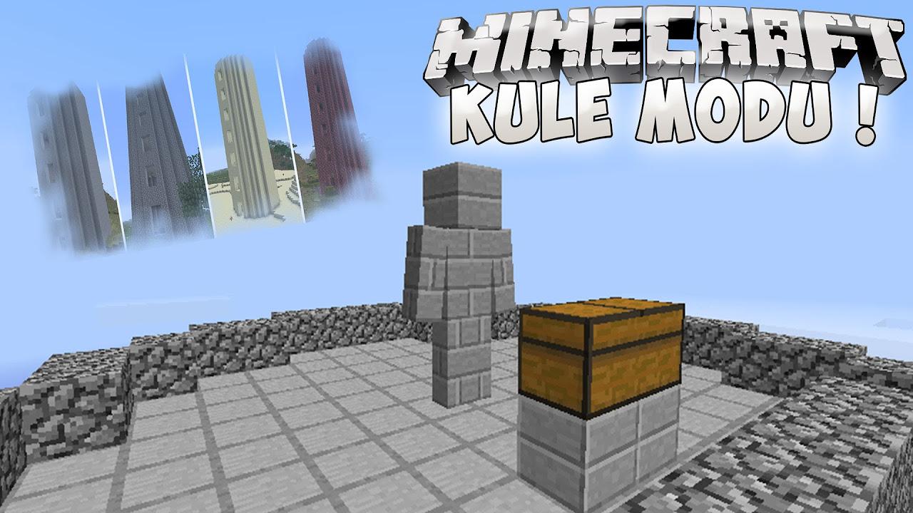 GOLEMLİ KULELER !! (BattleTowers Mod) - Minecraft Mod Tanıtımları #105