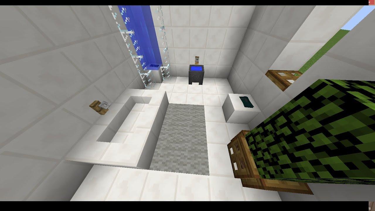 Faire Sa Salle De Bain comment faire une salle de bain ultra réaliste dans minecraft?