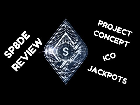 SP8DE Review: Project Concept, Initial Coin Offering, Jackpot System