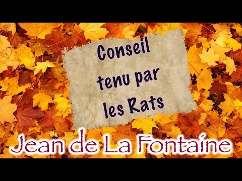 Conseil Tenu Par Les Rats, Fable De La Fontaine