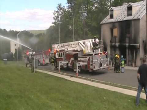 fire engine testing deck gun