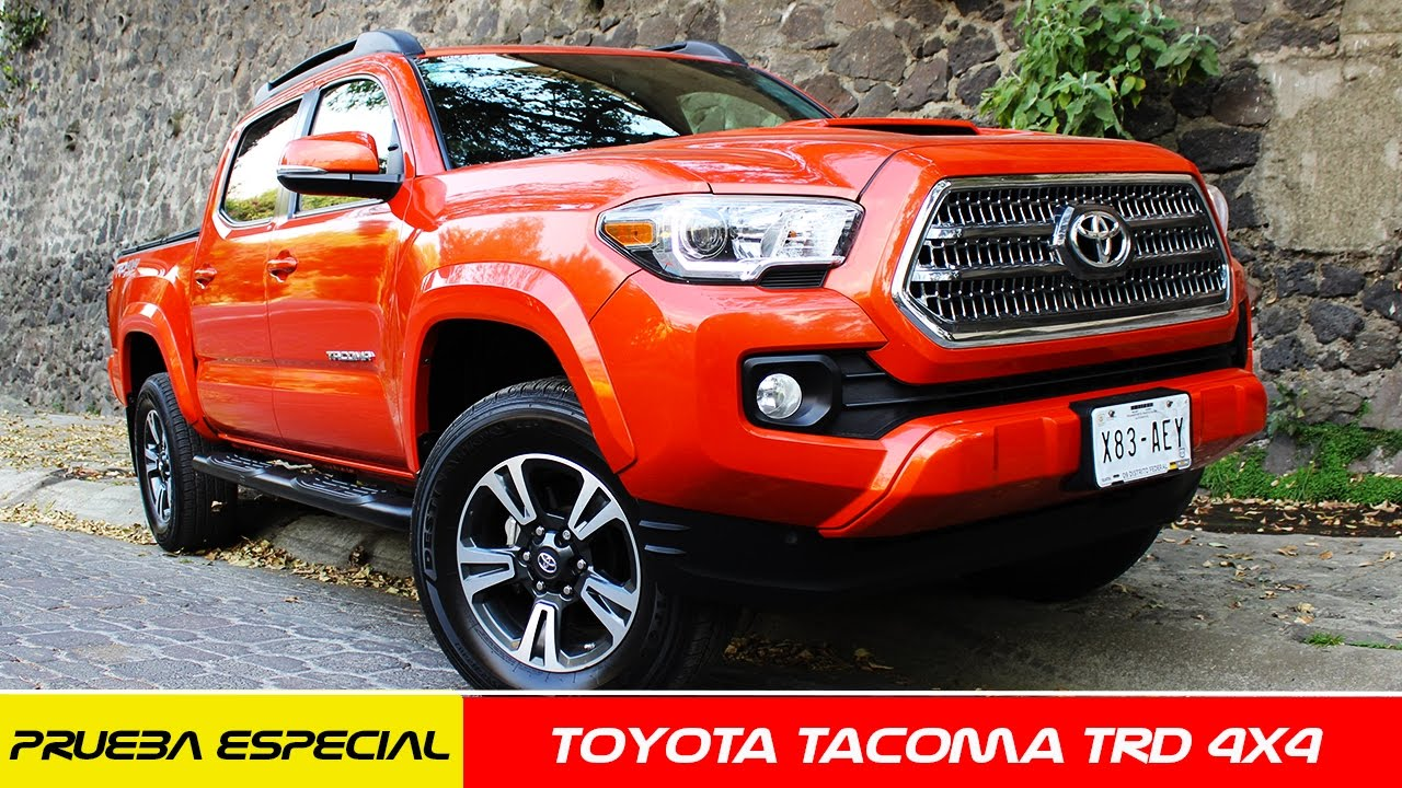 Toyota Tacoma 4x4 A Prueba CarMana YouTube