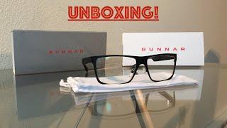 GUNNAR Optiks Crystalline Vinyl glasses unboxing