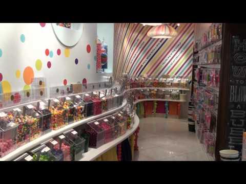 Walkthrough of Lolli & Pops - Retail Store Design