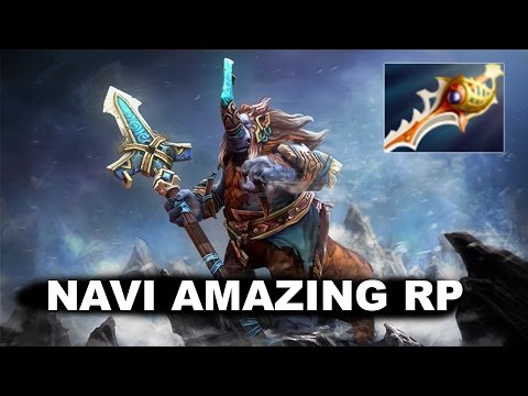 NAVI MOST AMAZING RP RAPIER COMBO EVER DOTA 2 TI5
