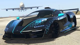 *NEW* GTA 5 McLaren Senna $3,250,000 Spending Spree! (GTA 5 New Cars)