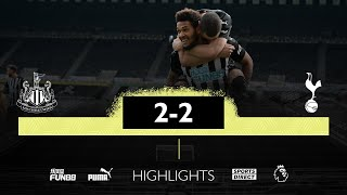 Newcastle United 2 Tottenham Hotspur 2 | Premier League Highlights