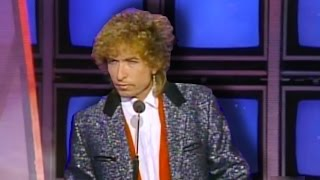 Bob Dylan was asked to present a Juno award, but it didn't go so we...
