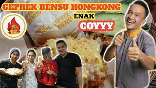 Download Video SPECIAL GEPREK BENSU HONGKONG || DIMASAKIN LANGSUNG OLEH CHEFNYA YANG DARI INDONESIA 😍 MP3 3GP MP4
