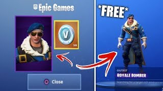 "HOW TO HAVE THE SKIN ROYAL BOMBER FREE on ""FORTNITE BATTLE ROYAL""! 😭 (Closed)"