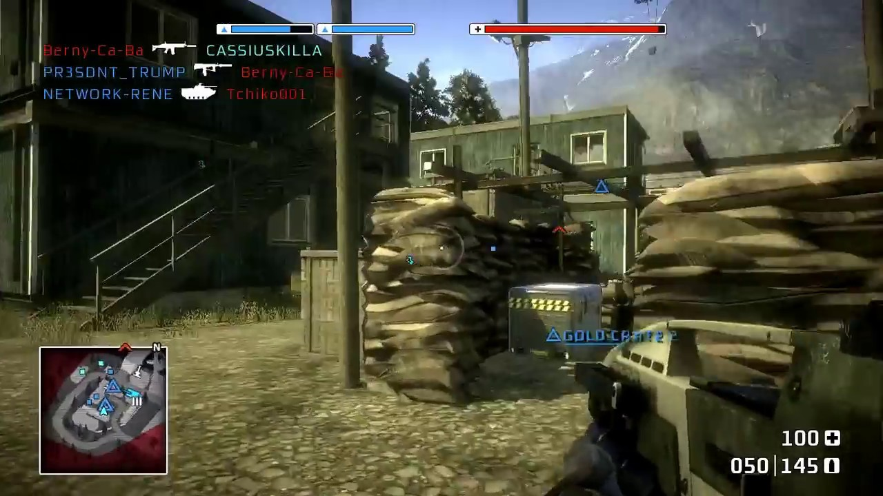 battlefield bad company 1 deconstruction multiplayer gameplay 2018