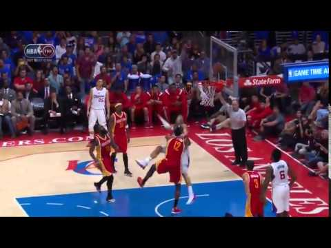 Dwight Howard Body Slams Blake Griffin   Rockets vs Clippers   Game 4   2015 NBA Playoffs
