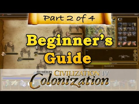 Civilization IV: Colonization - BEGINNERS GUIDE - Part 2 - Professions & Emigration
