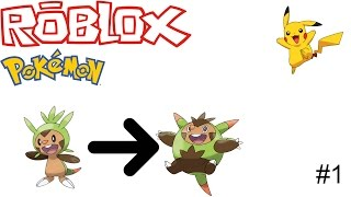 ROBLOX POKEMON ik vang een pikachu !!!