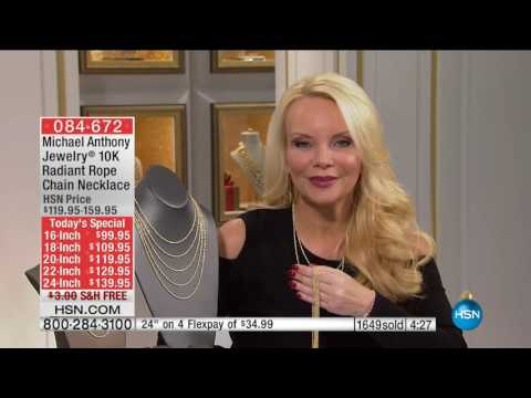 HSN | Michael Anthony Jewelry Gifts 11.30.2016 - 01 AM