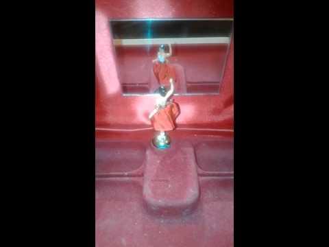 Music ballerina box