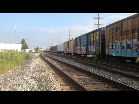 Railfannning IHB Main Line Kostner Ave and 123rd St Alsip,IL