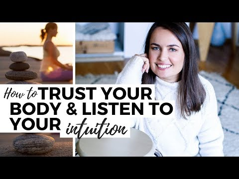 How To Trust Your Body And Listen To Your Intuition // Eating Disorder Recovery