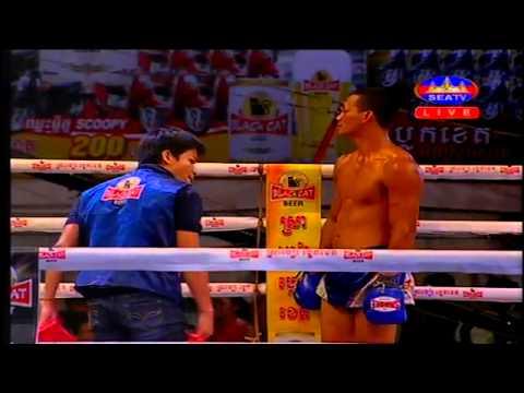 Kun Khmer Boxing Today   Thai Bun Han Vs Puth Chhay Rithy   SEATV Boxing   5 July 2015