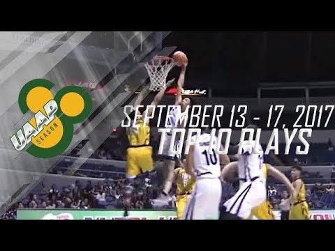 Top 10 Plays Week 2 | September 13-17 | UAAP 80 Men's Basketball