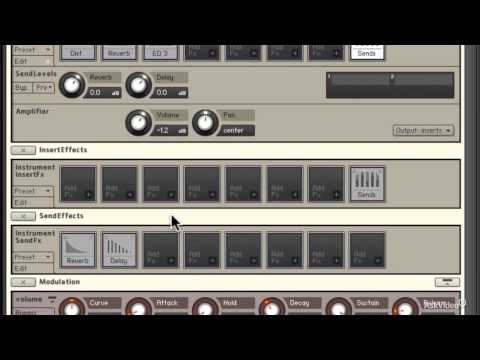 Kontakt 302: Advanced Instrument Design - 12. Send Effects