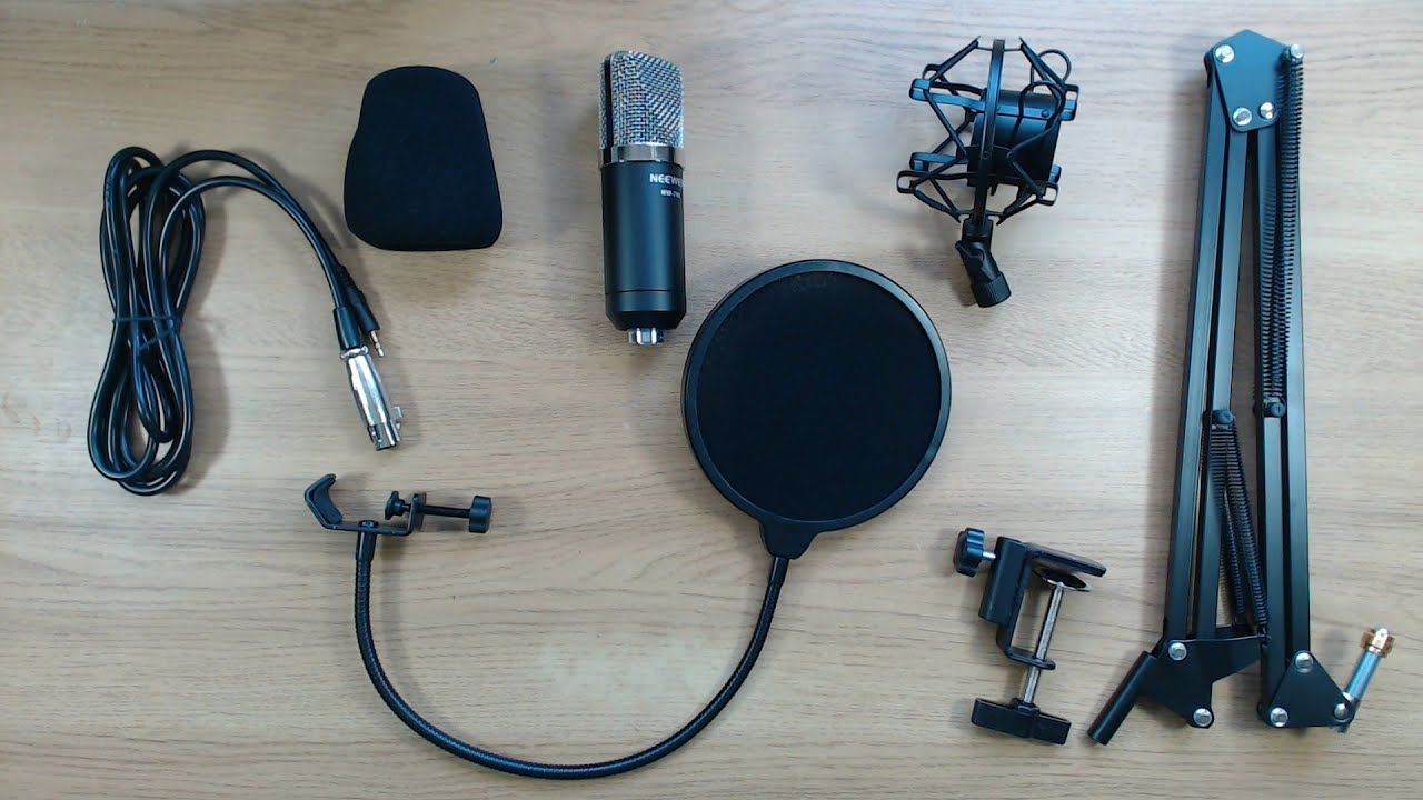 Neewer Nw 700 Condenser Microphone Amp Nw 35 Suspension Arm