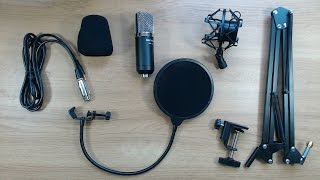 neewer nw 700 condenser microphone nw 35 suspension arm kit review