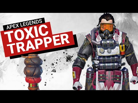 Apex Caustic Gas Trap | Toxic Trapper | Caustic Best Play