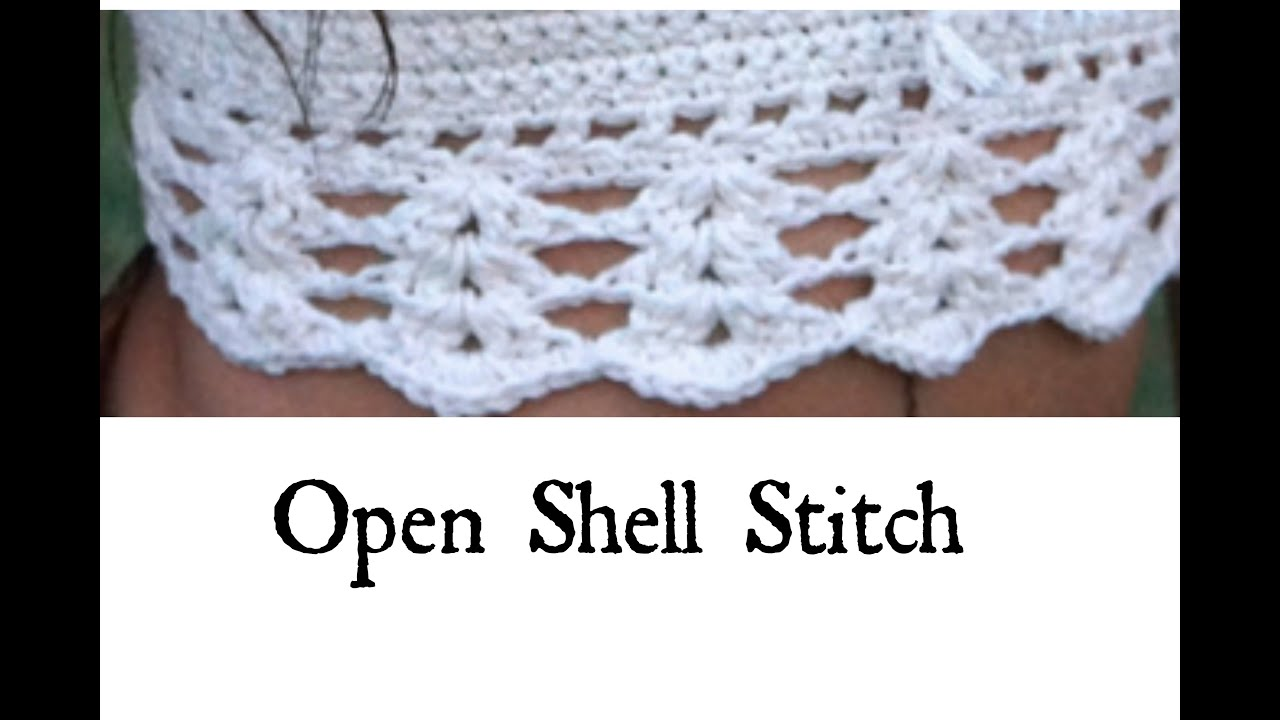Open Shell Stitch Tutorial