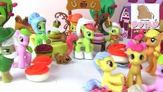Яблочная Ферма!!! Пироги. Танцы. Семейный Пикник. Май Литл Пони Мультик с Игрушками
