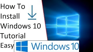 How To Install Windows 10 On a New hard drive or a fresh install ✔
