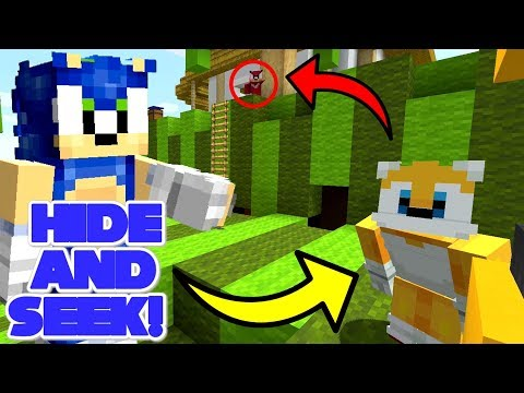Minecraft Sonic The Hedgehog - Sonic Plays Hide And Seek! [16]