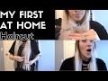 How I cut my HAIR at home: FIRST TIME
