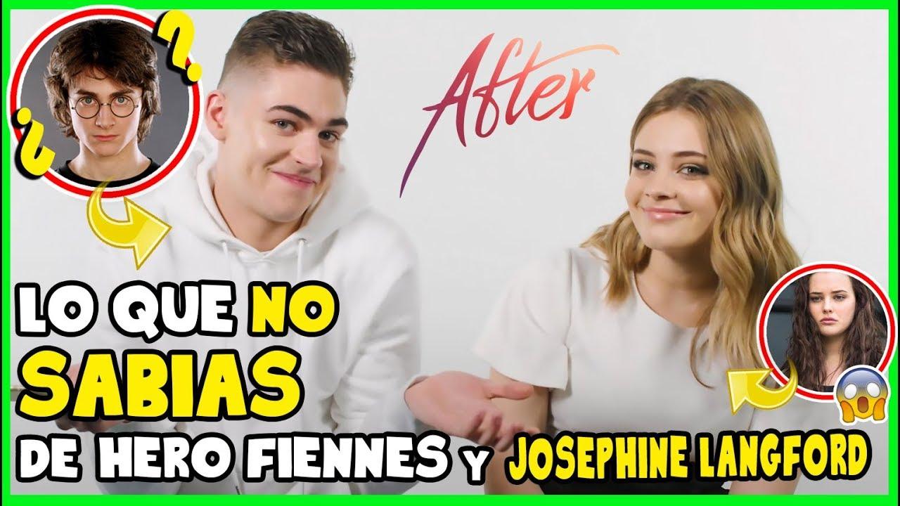 Download Curiosidades del Cast de AFTER (Josephine Langford & Hero Fiennes Tiffin)