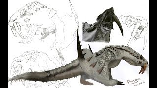 這期跟大家說說冰牙龍的生態習性封面素材来自DragonCross.