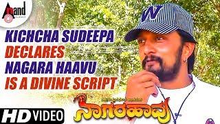Kichcha Sudeepa Declares Nagara Haavu is A Divine Script | Dr.Vishnuvardhana | SR.Puttanna Kanagal