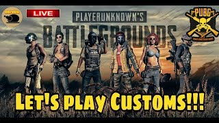 PUBG Mobile ADVANCED Custom Rooms with DerekG - Play NOW!!