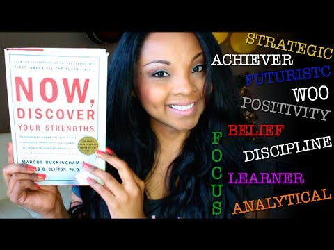 Now, Discover Your Strengths (this book changed my life!)