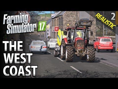Let's Play Seasons Farming Simulator 17 | The West Coast | Episode 2