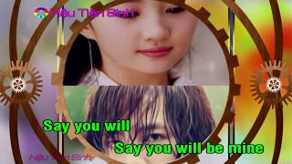 Say You Will Tokyo Square karaoke full HD YouTube