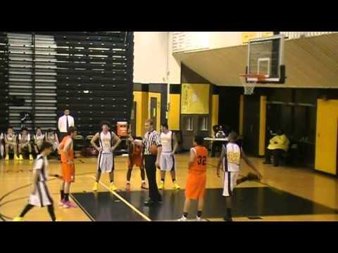 2013 Freshmen Basketball Center Line vs Sterling Heights