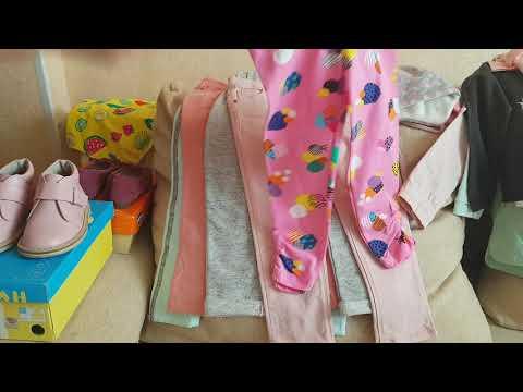 Покупки детской одежды весна-лето. Часть 2. ( Zara, Hm, Mothercare, Неман,chicco )