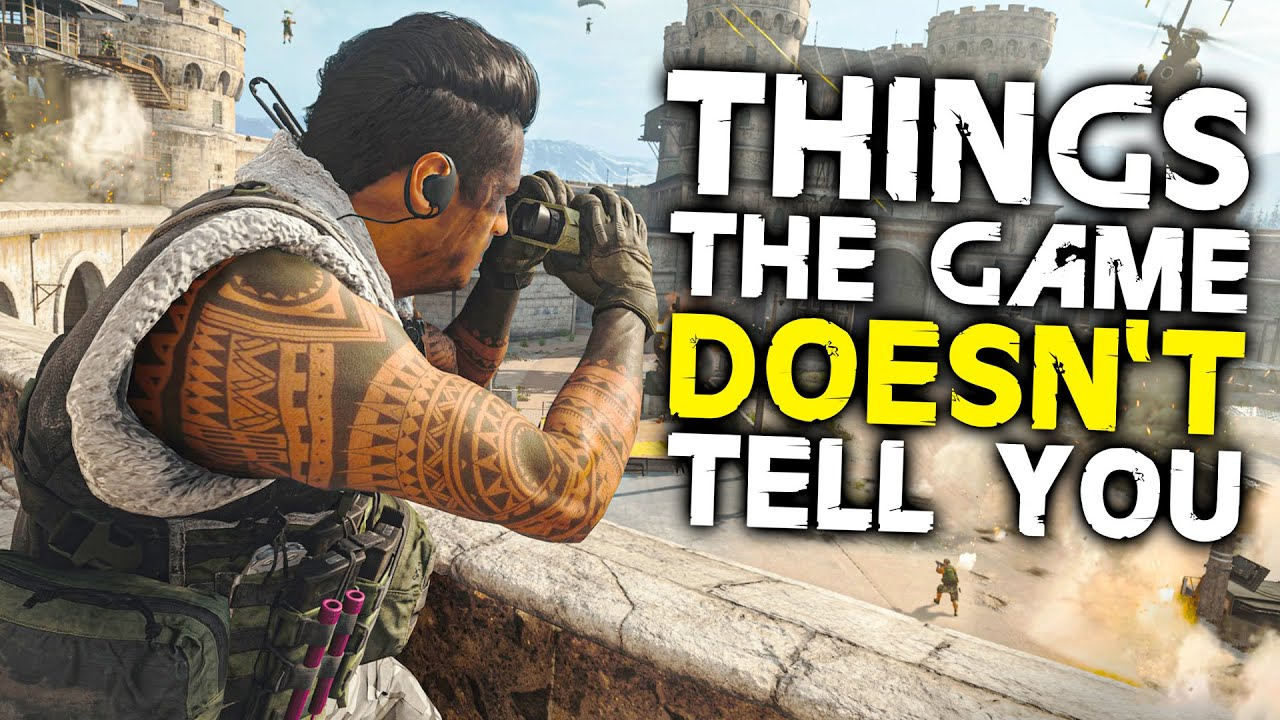 Call of Duty: WARZONE - 10 Things The Game DOESN'T TELL YOU
