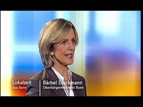 Bärbel Dieckmann, Interview wegen WCCB-Bürgschaft in der WDR-Lokalzeit im August 2009