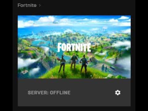Fortnite: Server Offline