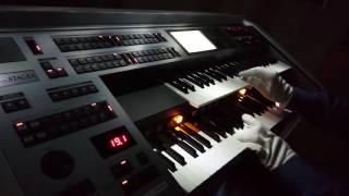 必殺仕事人の曲を自分流にアレンジして演奏してみました、レジストボタ...