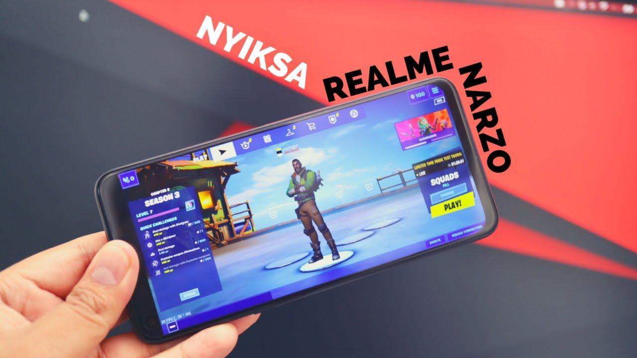 Pilihan Paling Bener - Gaming Test Nyiksa Realme Narzo